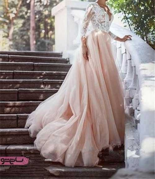 مدل لباس عروس شیک و ایرانی