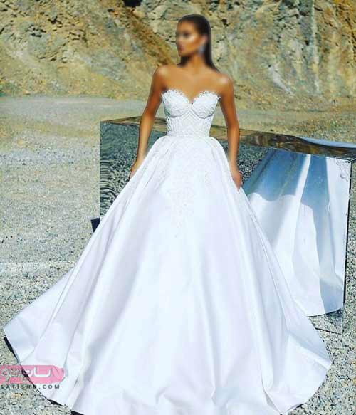 لباس عروس شیک 2019 مد روز خاص و جذاب