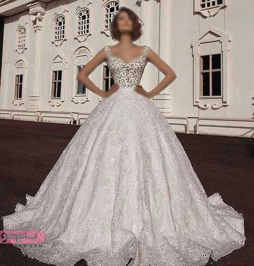 مدل لباس عروس گیپور اینستاگرام 2019 مدرن