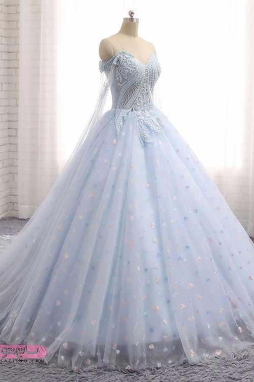 شیک ترین وجدیدترین لباس عروس مناسب نامزدی ابی هم حال
