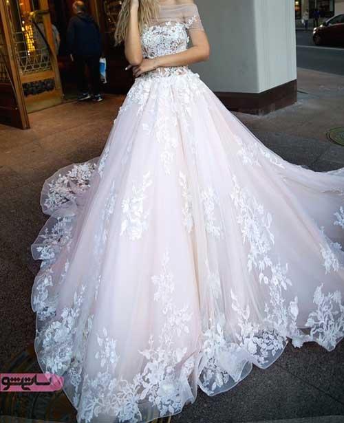 جدیدترین و شیک ترین لباس های عروس کار شده