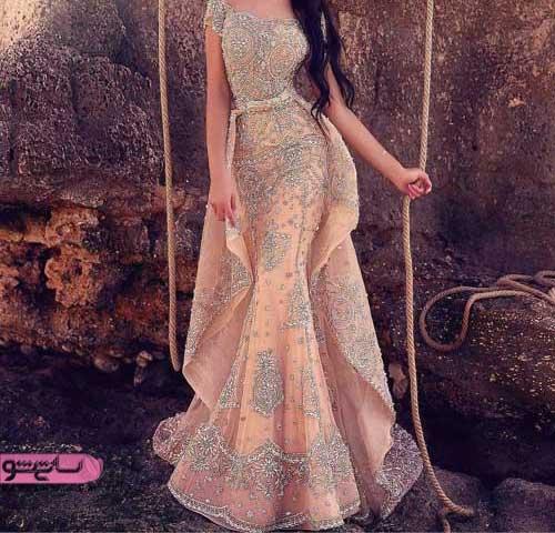انواع لباس عروس جدید شیک مناسب امسال