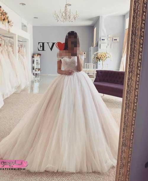 انواع لباس عروس جدید 2019
