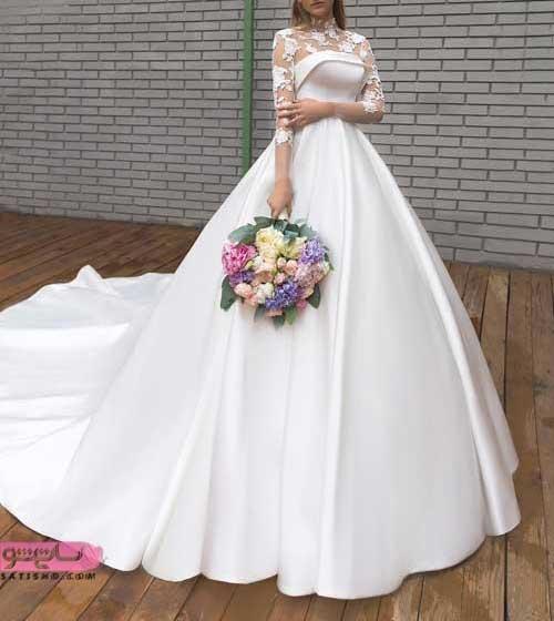مدل لباس عروس شیک پرنسسی