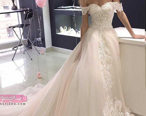 انواع مدل لباس عروس جدید ایرانی 98