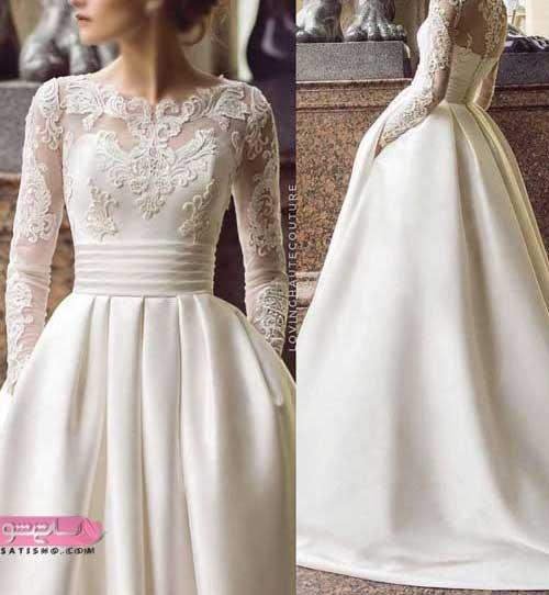 انواع لباس عروس جدید خارجی