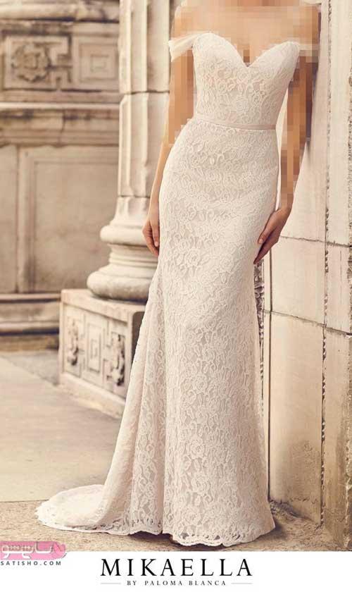 انواع لباس عروس جدید دخترانه