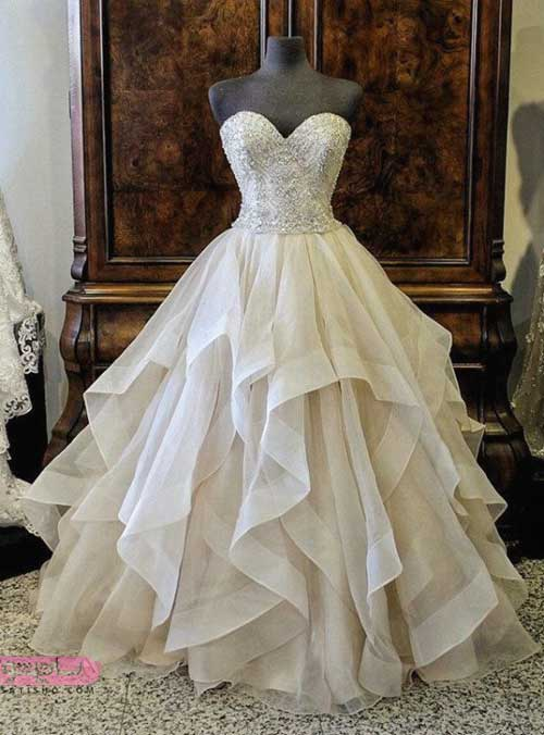 مدل لباس عروس شیک اینستاگرام