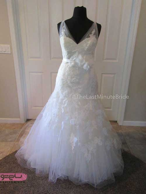 دانلود انواع لباس عروس جدید