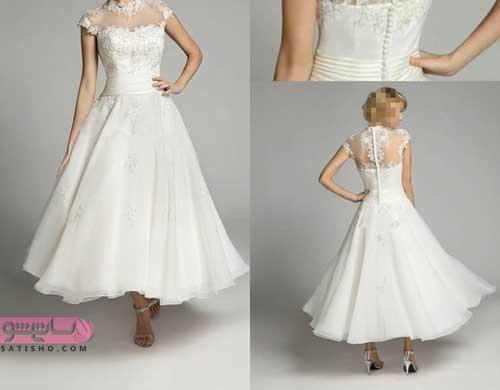 انواع لباس عروس پوشیده جدید