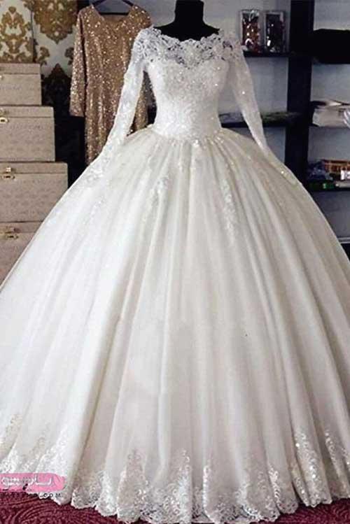مدل لباس عروس شیک و جدید 2019