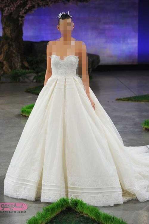 مدل لباس عروس شیک و پوشیده