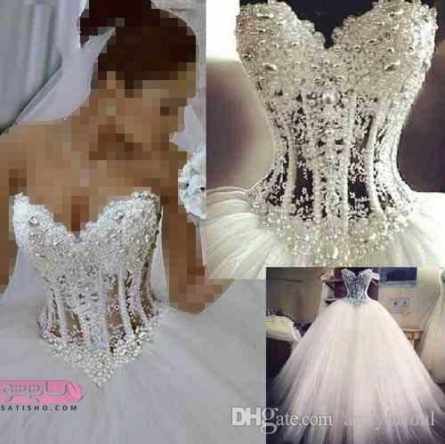 مدل لباس عروس شیک ۲۰۱۹
