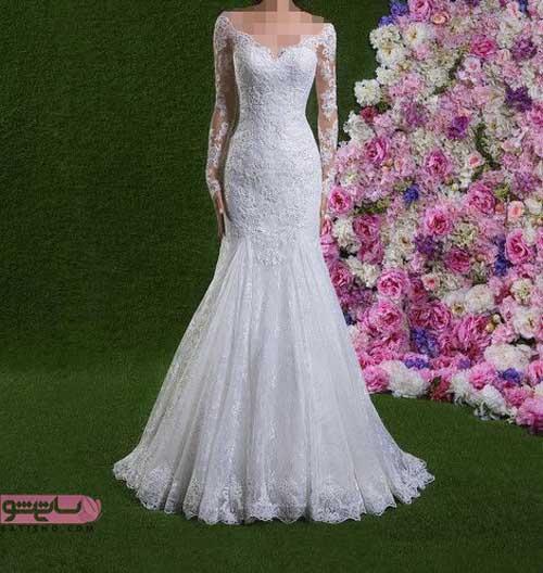 مدل لباس عروس شیک و جدید ایرانی