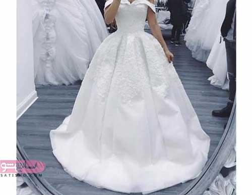 مدلهای لباس عروس سایز بزرگ
