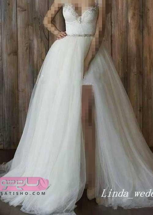 عکس لباس عروس سایز بزرگ 98 خاص