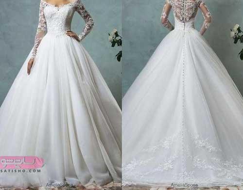 جدیدترین مدل لباس عروس 98