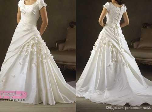 جدیدترین مدل لباس عروس ۹۸ در دو طرح متنوع