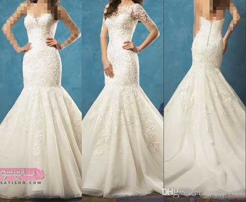 خرید لباس عروس سایز بزرگ در سه حالت