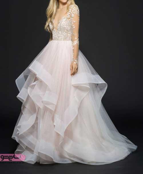 لباس عروس سایز بزرگ شیپور