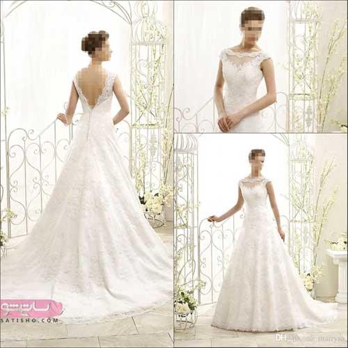 مدل لباس عروس زیبا در اینستاگرام