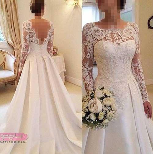 مدل لباس عروس زیبای خفته