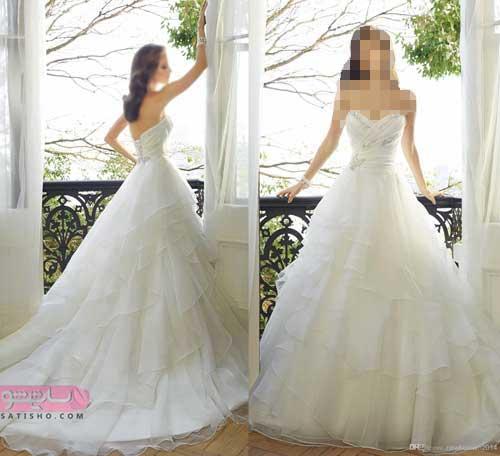 جدیدترین مدل لباس عروس شاین