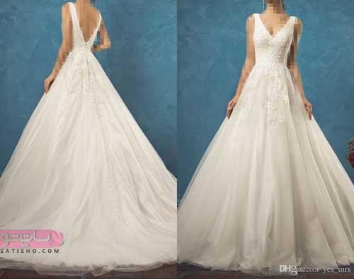 شیک ترین مدل لباس عروس پفی