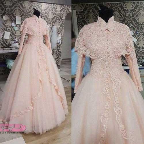 جدیدترین مدل لباس عروس ساتن