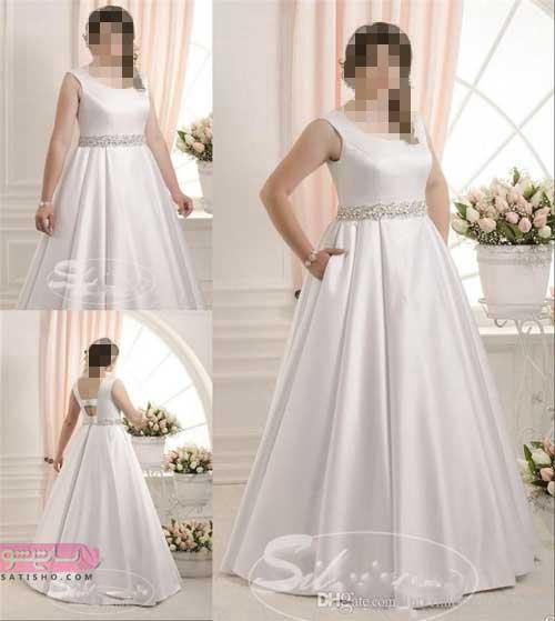 شیک ترین مدل لباس عروس پوشیده
