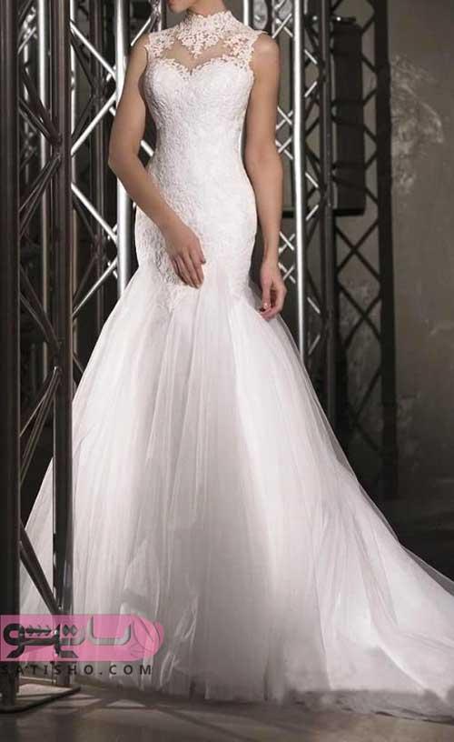 تصاویر لباس عروس سایز بزرگ شیک