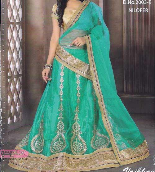 مدلهای لباس هندی ساری دخترانه