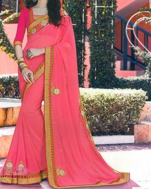 عکس انواع مدل لباس هندی دخترانه رنگ صورتی