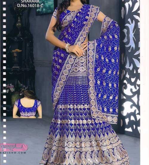 جدیدترین مدل لباس مجلسی هندی ساری