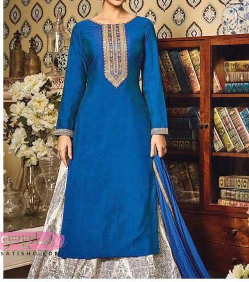 مدل لباس هندی تونیک دامن