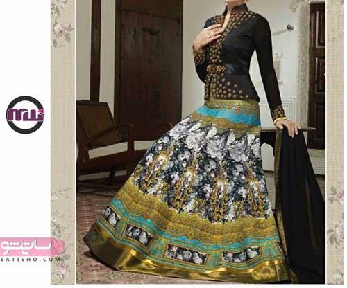 مدل لباس هندی زنانه بسیار زیبا