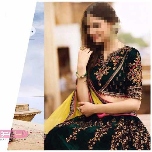 مدلهای بسیار شیک لباس هندی مجلسی
