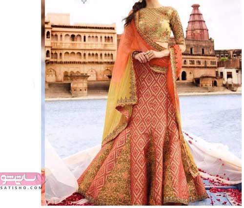 ژورنال لباس هندی دخترانه