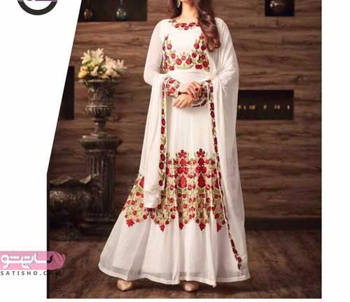 تصاویر لباس هندی دخترانه با شال