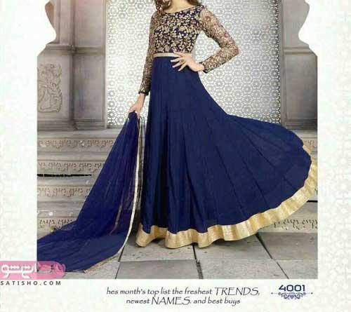 مدل لباس هندی جدید دخترانه