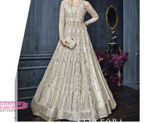 مدل لباس هندی بلوز دامن دخترانه شیک 98