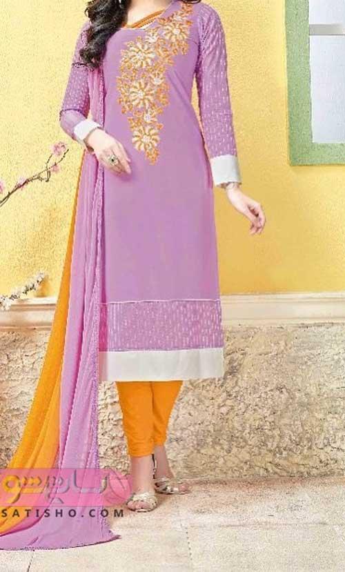 جذاب ترین انواع لباس مجلسی هندی جدید