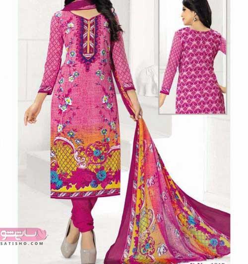 طرح هایی از مدل لباس هندی دخترانه شیک و زیبا