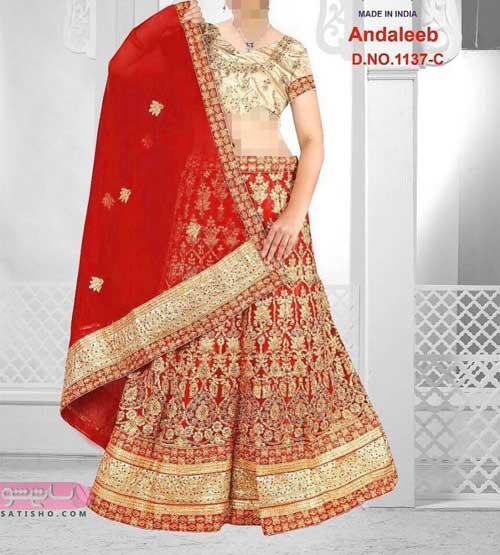 مدرن ترین انواع مدل لباس مجلسی هندی خاص و جدید