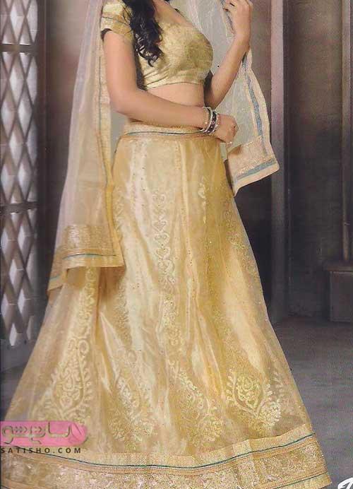 عکس از مدل لباس عروس هندی