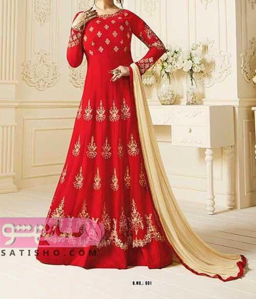 انواع لباس هندی مجلسی شیک