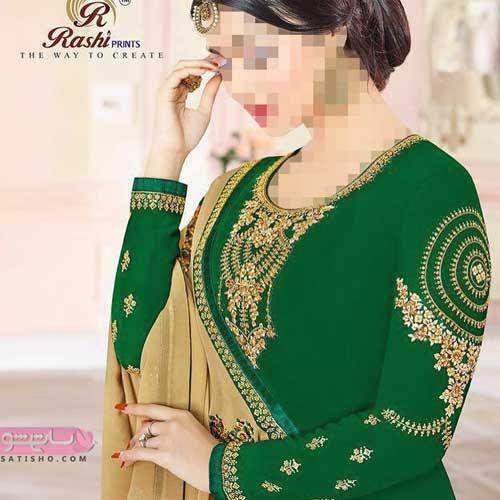 مدل لباس هندی تونیک شلوار شیک و خاص