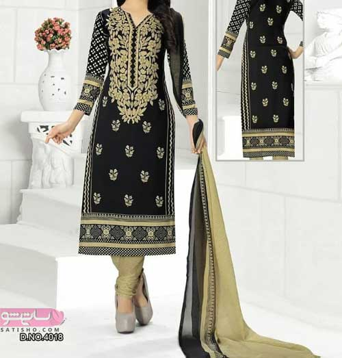 لباس هندی مجلسی دخترانه شیک