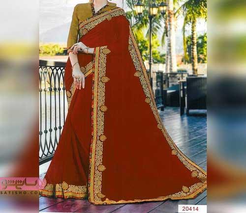 طرح های جدید لباس هندی زنانه و دخترانه