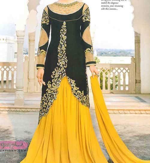 زیباترین و جدیدترین مدل لباس هندی دخترانه